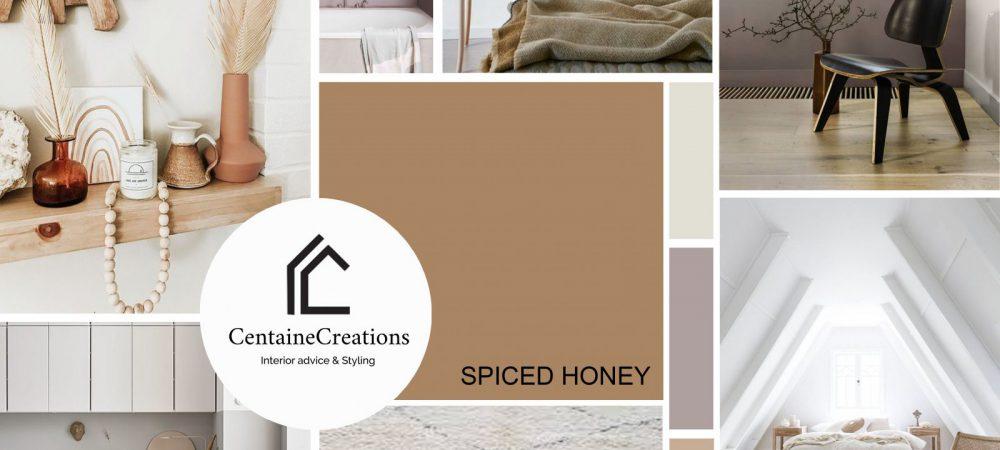 kleur van het jaar 2019 Spiced Honey
